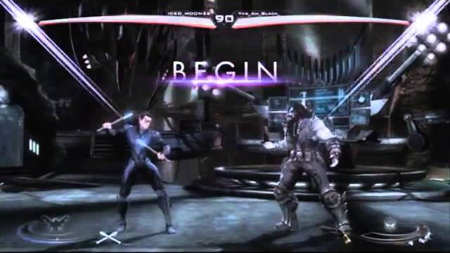 King of Rebelos - ICED_MOON 22 (Nightwing) vs. RM Black (Lobo/Scorpion) - Injustice: Gods Among Us