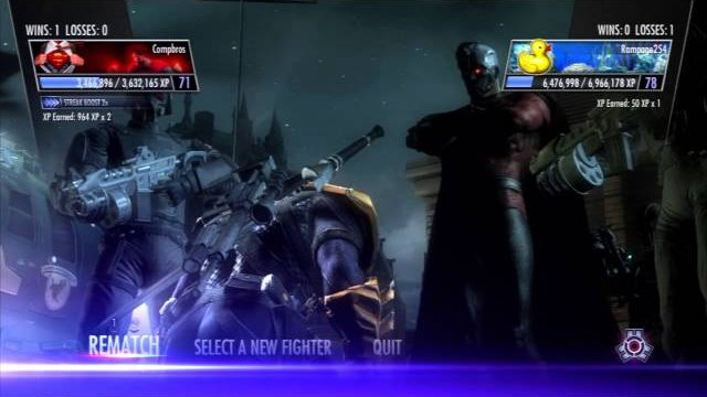 Injustice: Gods Among Us (PS3) Online Casuals w/ Rampage254 - 5/6/14