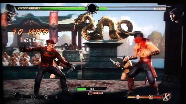 MK9: (BnB) Deep jump kick No Meter Combo Compilation All Characters