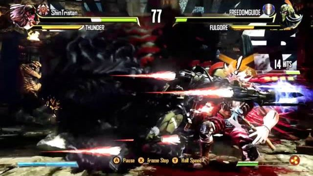 KI3 : Fulgore vs Thunder Online Match