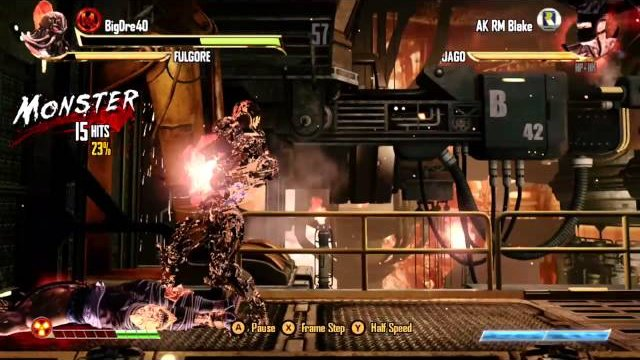 BigDre40 (Fulgore) vs. AK RM Blake (Jago), Ranked Match - Killer Instinct 3 - KI3