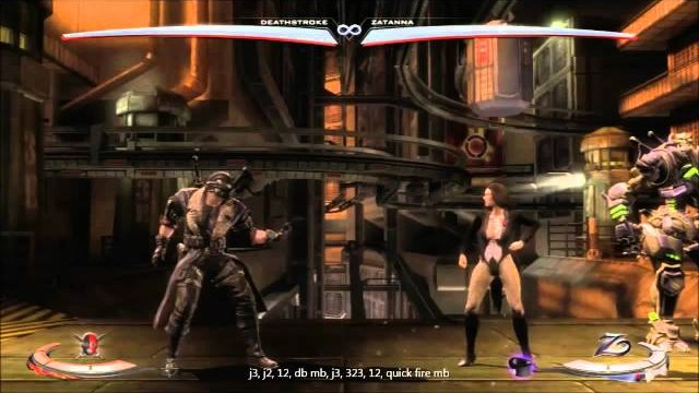 Deathstroke AA Combos with J3 J2