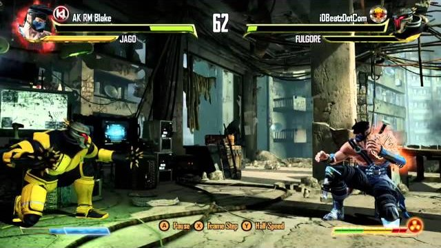 iDBeatzDotCom (Fulgore) vs. AK RM Blake (Jago), Ranked Match - Killer Instinct - KI