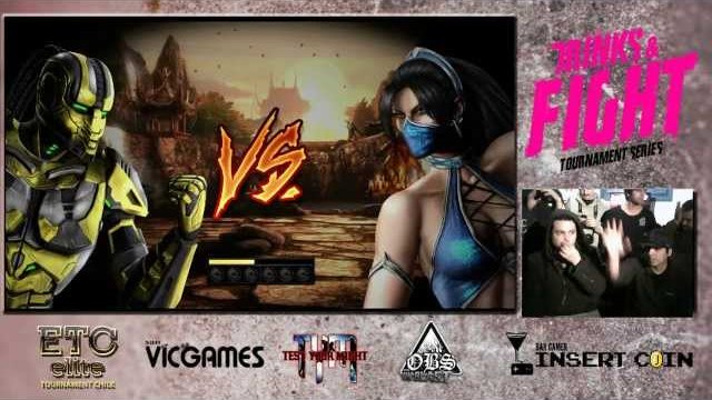 Grand Finals Shamanz (Cyrax) Vs FireBomber (Kitana) Torneo Drinks & Fight MK9 (ETCCHILE)