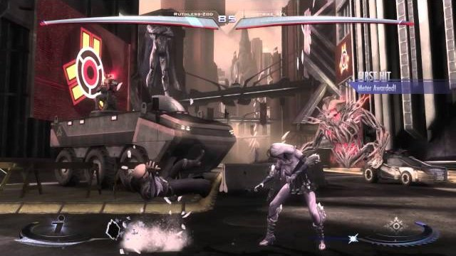Injustice Ps4 Cyusstrike(KF) vs Ruthless Zod(Zod) Part.1