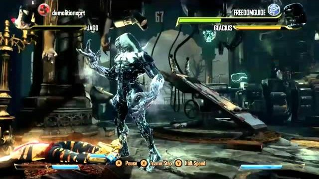Killer instinct - Glacius