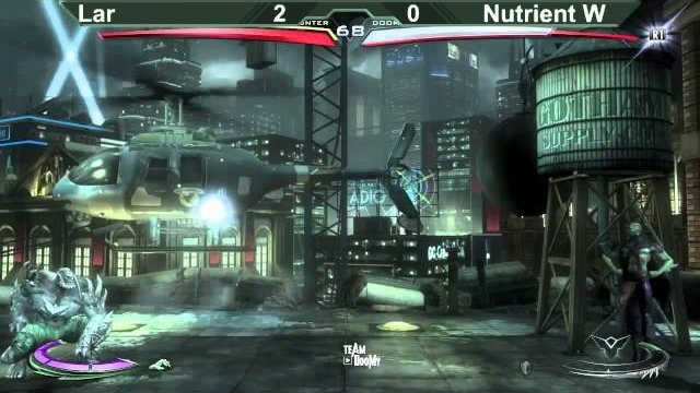 Dublin Comic Con 2014 Injustice Tournament Grand Final Nutrient Superman vs Lar Martian Manhunter