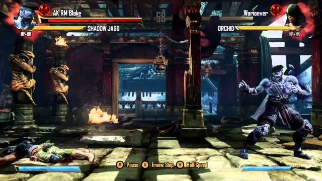 Warioever (Orchid) vs. AK RM Blake (Shadow Jago), Ranked Match - Killer Instinct - KI