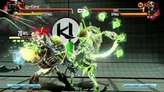 lordspinal's unbreakable into juggled counter breaker 82%