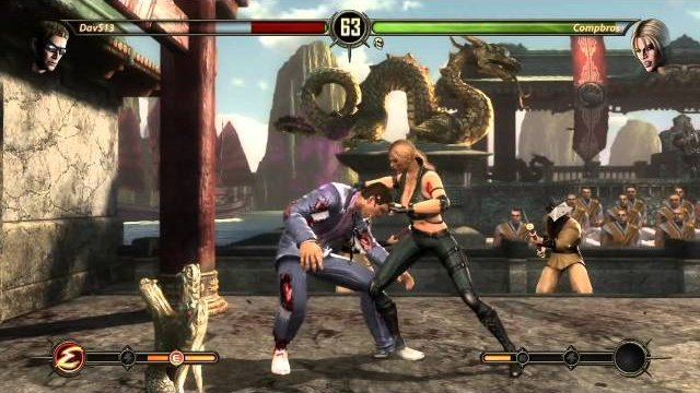 STB XBL Online MK9 Tournament (10/25/14) - DavS13 (Kabal/Johnny Cage) vs. Compbros (Sonya)