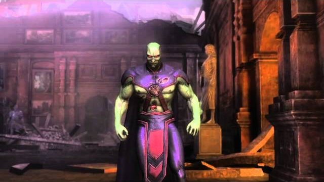 Injustice (360) Online Casuals: STB ShujinkyDink (Martian Manhunter) vs. Compbros (Superman)