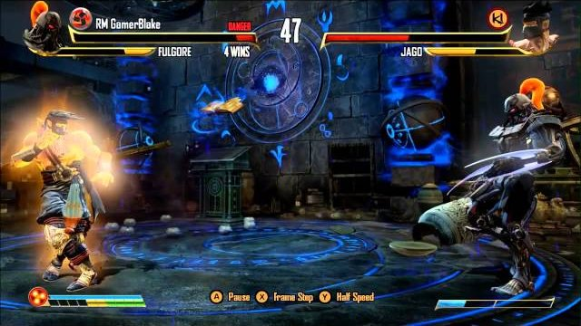 Emperor Saltface (Fulgore) vs. RM GamerBlake (Jago), Part 1 - Killer Instinct - KI