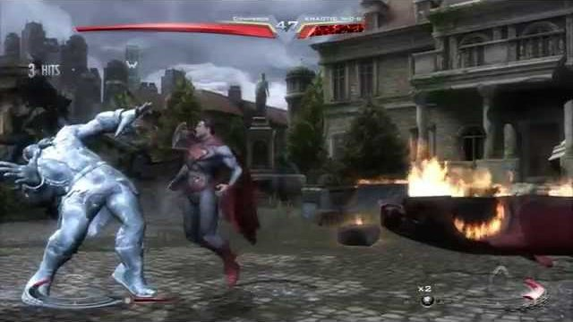 Injustice (PS3) Online Casuals: Compbros (Bane/Supes) vs. Khatoic N-O-G (Grundy/Lobo) - 12/12/14