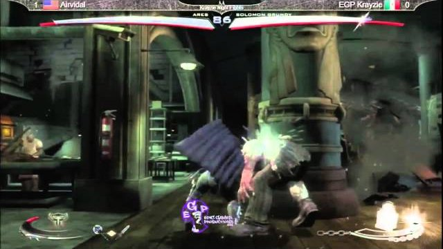 KNF 1.0 - EGP Wonder_Chef (Solomon Grundy) vs Airvidal (Ares)
