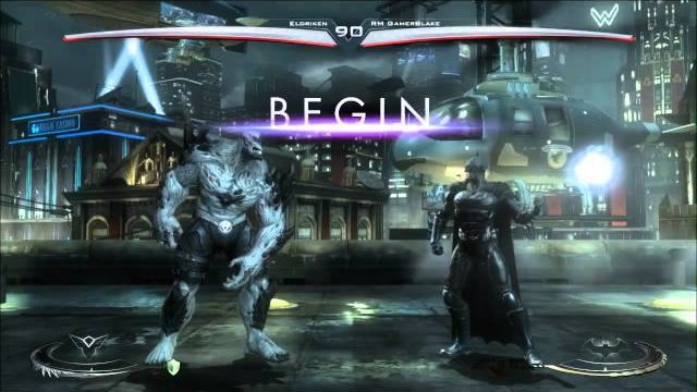 RM Eldriken (Doomsday) vs. OBS RM GamerBlake (Batman) - Injustice: Gods Among Us - IGAU