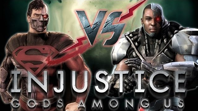 Injustice: Cyborgs Among Us! Superman VS Cyborg (Sabry_25)! IGAU PSN Online Casuals 2015!