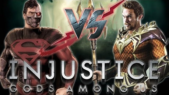 Injustice: Beast Among Us! Superman VS Aquaman (FrozenG3oX)! IGAU PSN Online Casuals 2015!