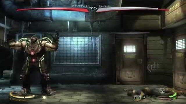 Injustice (360) Online Casuals: IP A i N T E D (Sinestro/Adam) vs. Compbros (Supes/Bane) - 12/21/14
