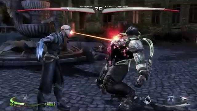 Injustice (Ps4) Online Casuals: Compbros (Supes/Bane) vs. Khaotic Splash (Various) - 1/1/15