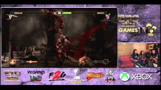 ETCCHILE GAMES TV: Wolfighter (Jax-Kunglao) VS ETC Cazuela (Mileena) FT3 Pool Match