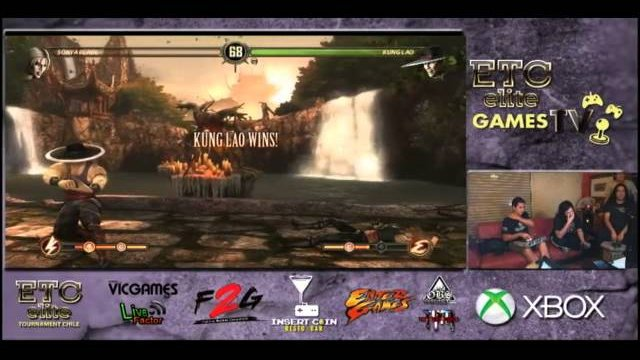 ETCCHILE GAMES TV: Black Rebel (Sonya) VS ETC Mcfly (KungLao) FT3 Pool Match