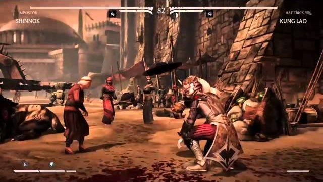 MKX - Portal Invisibility WTF just happened moment