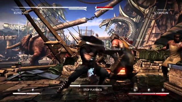 MKX Kung Lao 56 hit combo