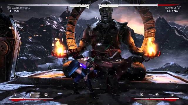 MKX - Ermac 41% Meterless(Midscreen, Master of Souls)