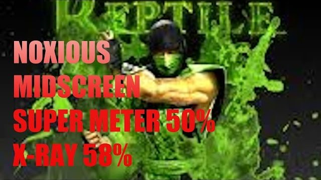MKX - REPTILE COMBOS (Noxious) MID 50% 58%