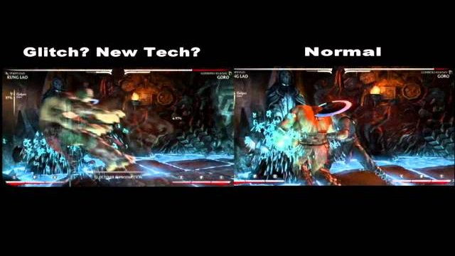 MKX - Glitch or New Tech With Interactions (By ETC Mcfly)