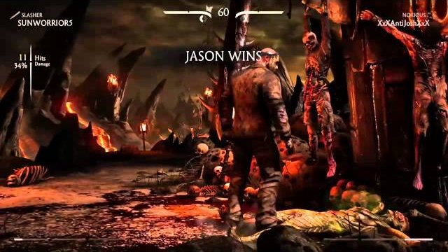 MKX (Online): Matches Part 2 - Ranked Reptile vs Jason