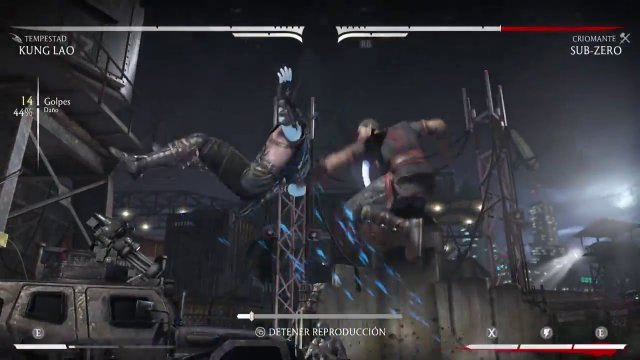 MKXL / Kung Lao (Tempest) - 49% Barrel Combo Interaction (By ETC Mcfly)