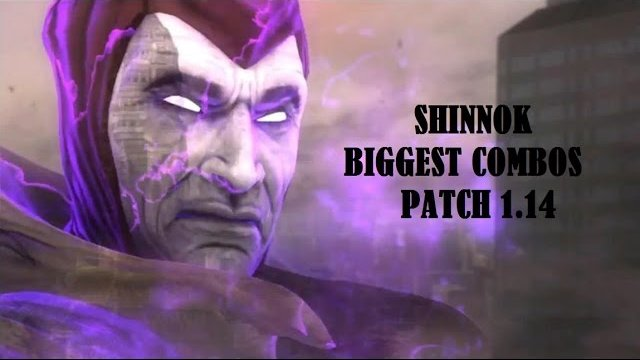 Shinnok Biggest combos for every variation 1.14