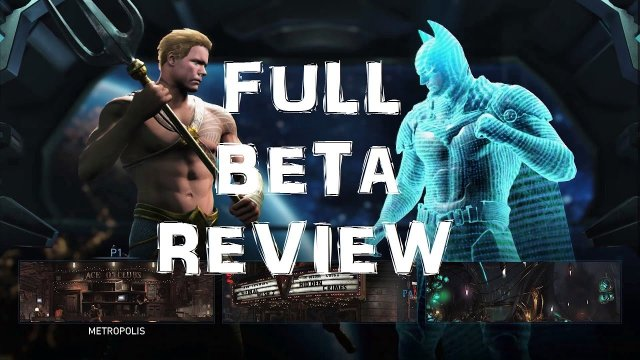 Injustice 2: FULL BETA REVIEW