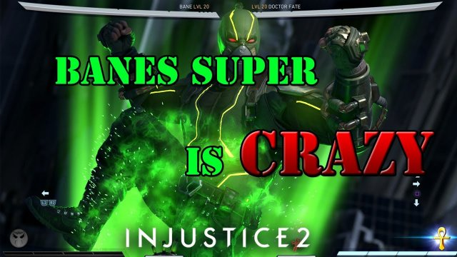 Injustice 2 - The usefulness and  power of Banes super move!