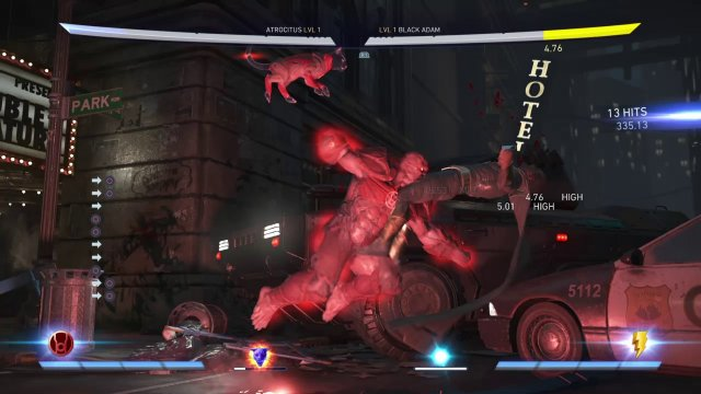 Injustice 2 Atrocitus grab combo variation. More possible  for sure!