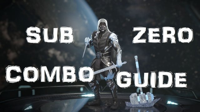 Injustice 2 Sub Zero COMBO GUIDE