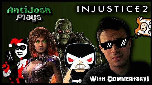 Starfire Brings The Heat! | Commentary with Dr. Zadok | Injustice 2 | AntiJosh Plays
