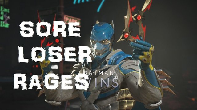 "Injustice 2: SORE LOSER RAGES: ""LITERALLY CAN'T DO NOTHING!"""