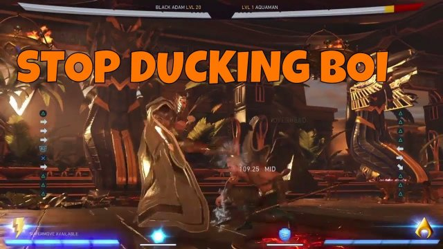 Injustice 2 - How To Avoid Uppercut After Forward 3