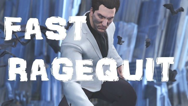 Injustice2: RANKED RAGEQUITTER!