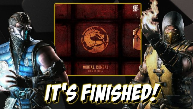MORTAL KOMBAT ENCYCLOPEDIA FIRST LOOK!! | Mortal Kombat Book of Souls