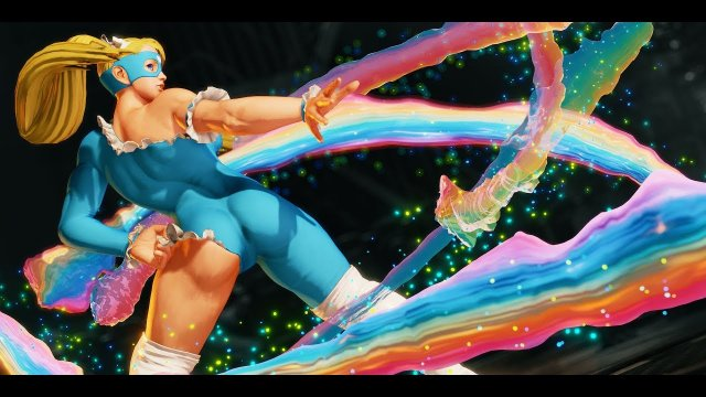 This is Rainbow Mika 3.5 - SF5 R.Mika combos & mixups