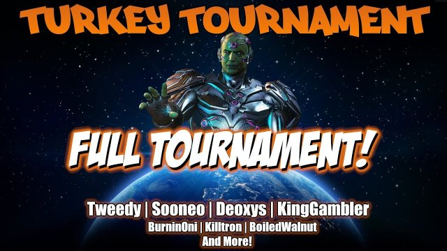 INJUSTICE 2: TURKEY TOURNAMENT (Tweedy, Sooneo, Deoxys, KingGambler and More!)