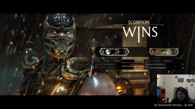MKX Hype Best to Ten With The Real Life Kenshi Scorpion VS  Teddya1gaming Reptile