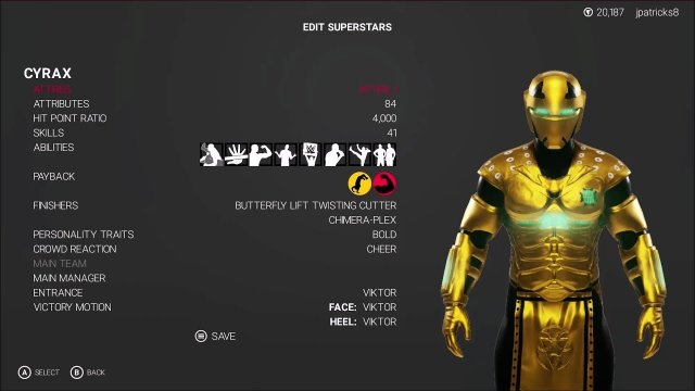 WWE 2K19 - Mortal Kombat - Cyrax Showcase