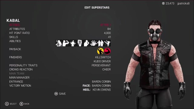 WWE 2K19 - Mortal Kombat - Kabal Showcase