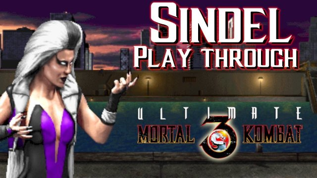 HOW TO BEAT UMK3 WITH SINDEL- Hardest Level- (Ultimate Mortal Kombat 3)