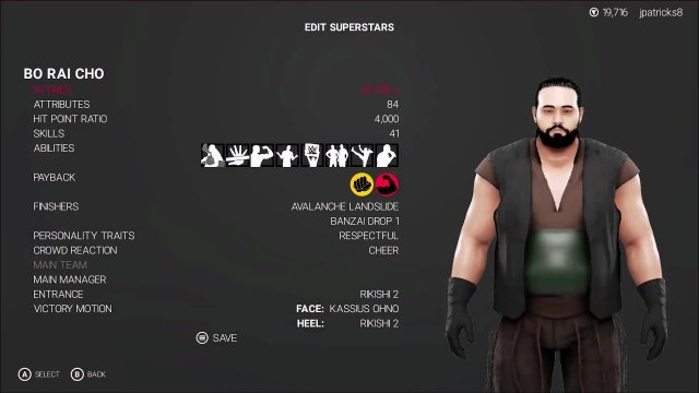 WWE 2K19 - Mortal Kombat - Bo Rai Cho Showcase